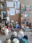 My studio space at uni